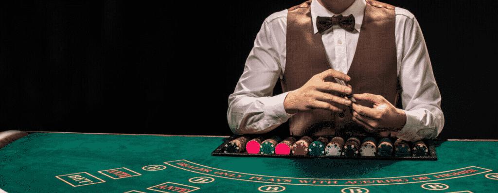 Cassino ao vivo - Jogue ao vivo contra um dealer real